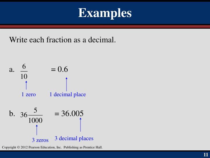 1 decimal place