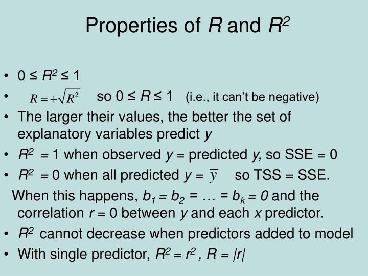 Properties of