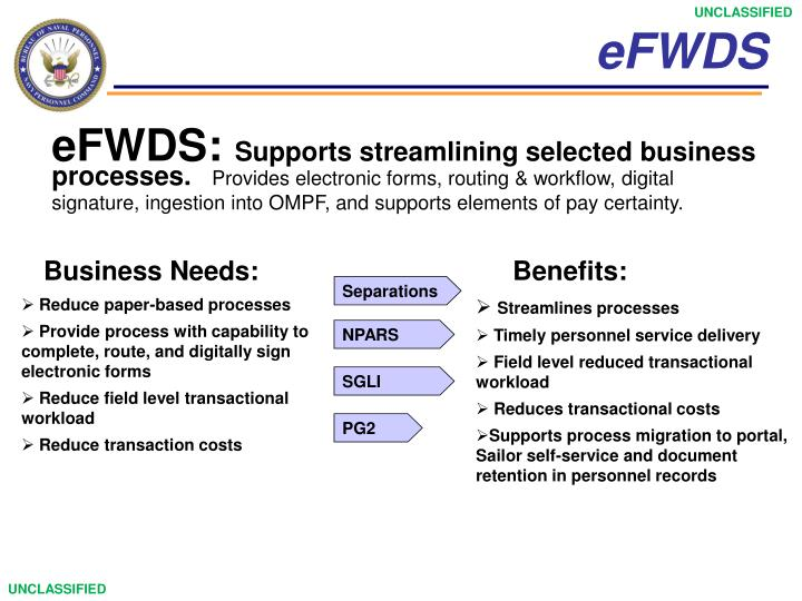 eFWDS