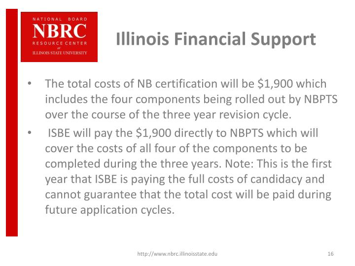 Illinois Financial Support