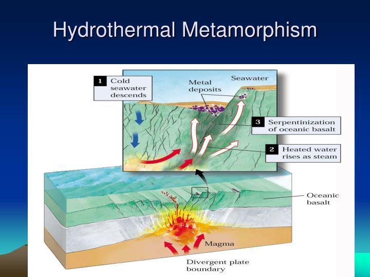 Hydrothermal Metamorphism