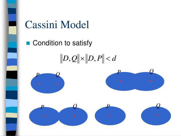 Cassini Model