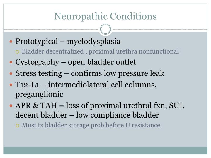 Neuropathic Conditions