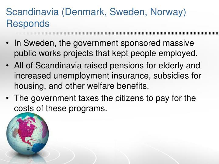 Scandinavia (Denmark, Sweden, Norway) Responds