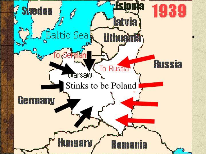 Stinks to be Poland