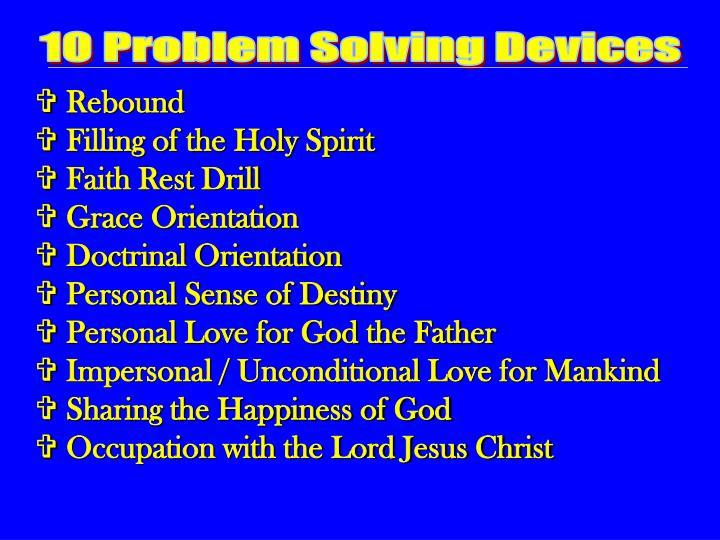 10 Problem Solving Devices