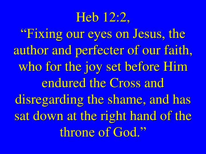 Heb 12:2,