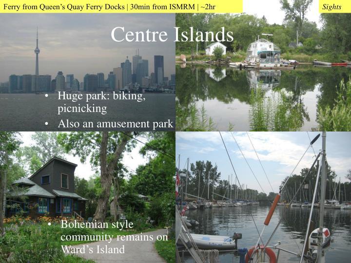 Huge park: biking, picnicking