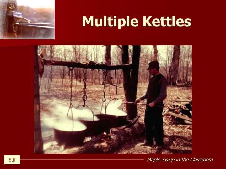 Multiple Kettles