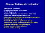 steps of outbreak investigation1