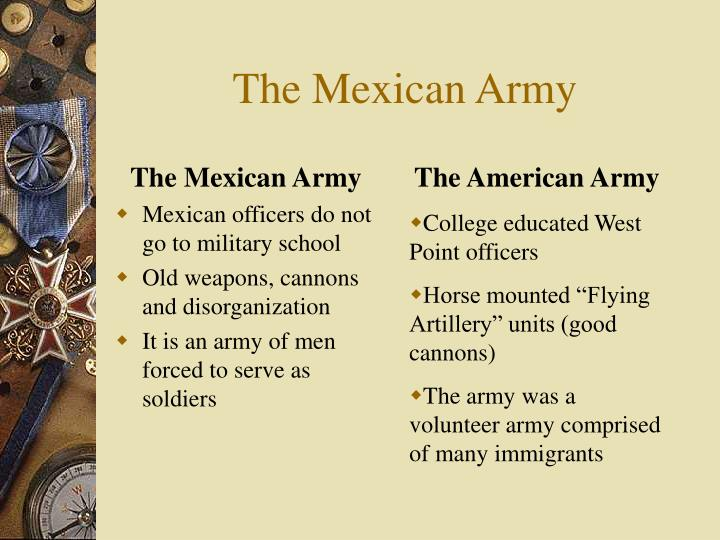 The Mexican Army