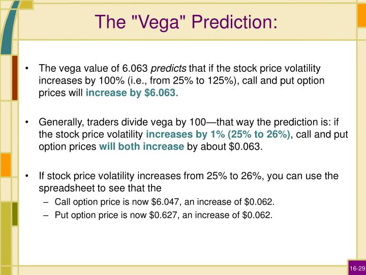 """The """"Vega"""" Prediction:"""