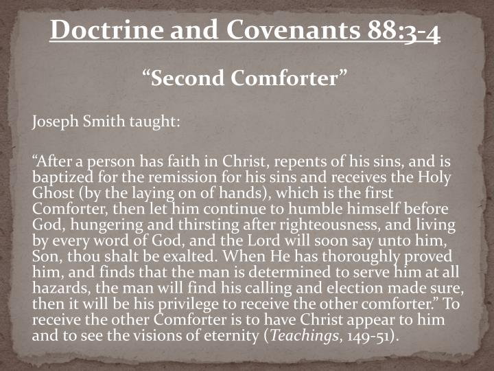 Doctrine and Covenants 88:3-4