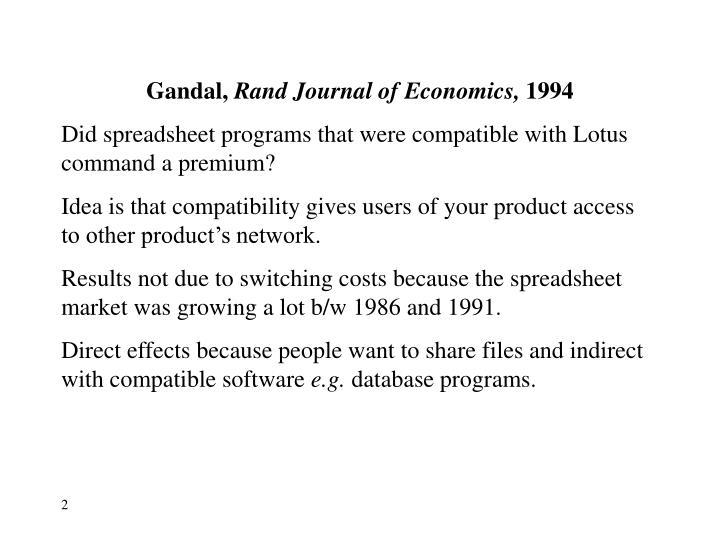 Gandal,