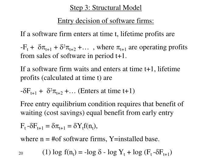 Step 3: Structural Model