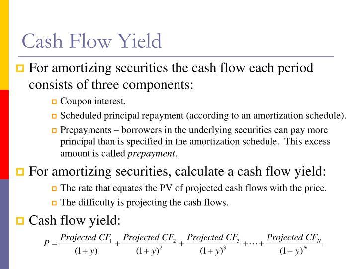 Cash Flow Yield
