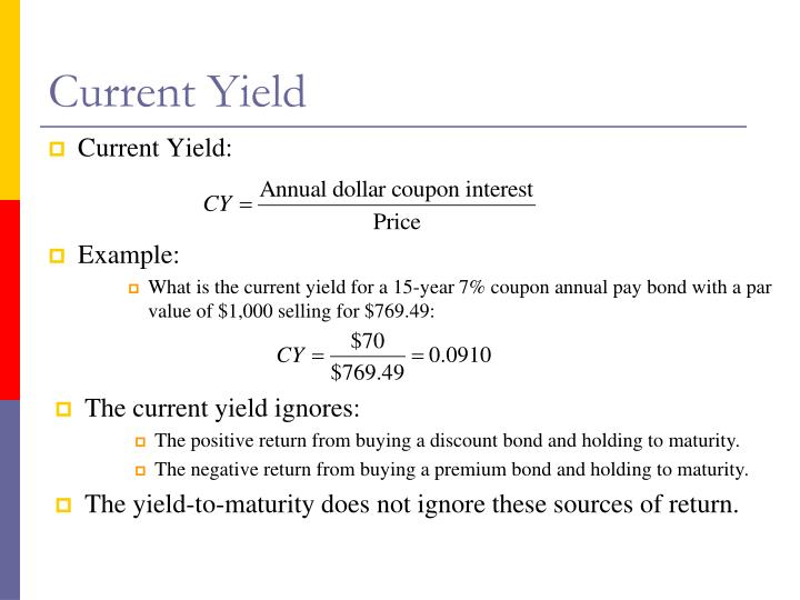 Current Yield