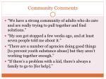 community comments2