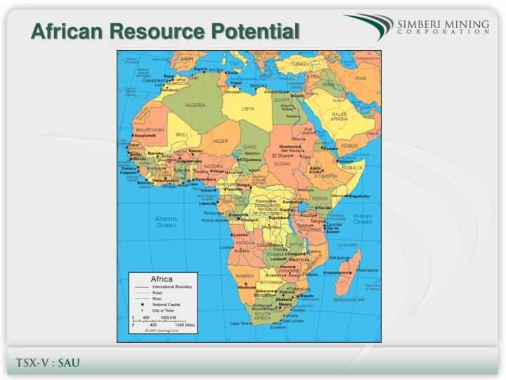 African Resource Potential