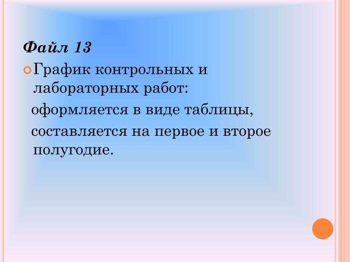 Файл 13