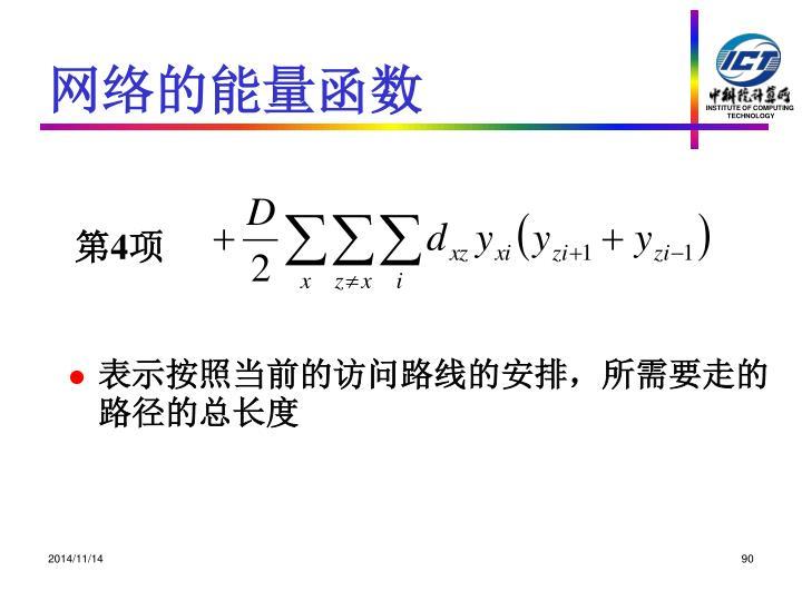 网络的能量函数