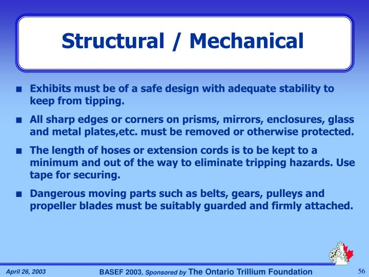 Structural / Mechanical