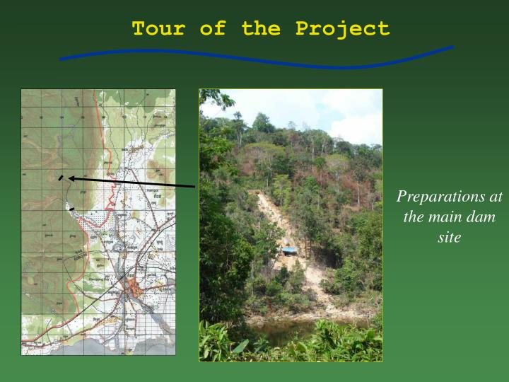 Tour of the Project