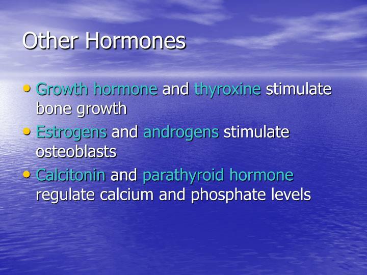 Other Hormones