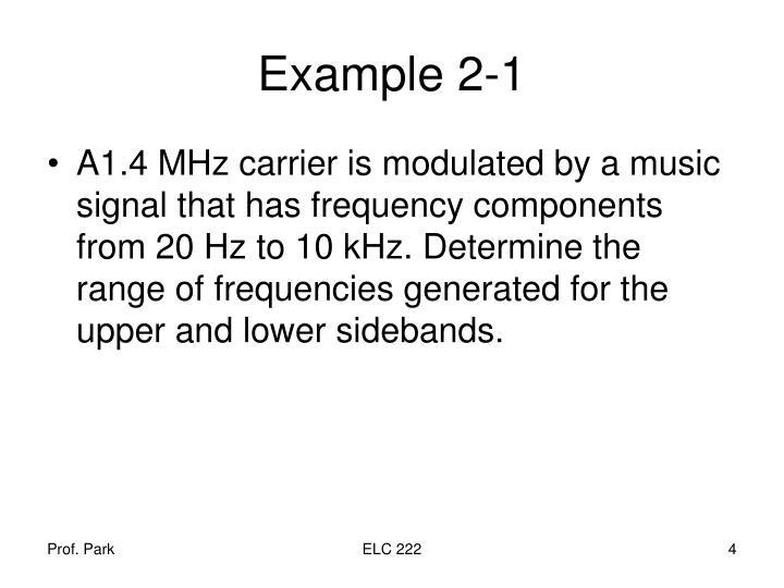 Example 2-1
