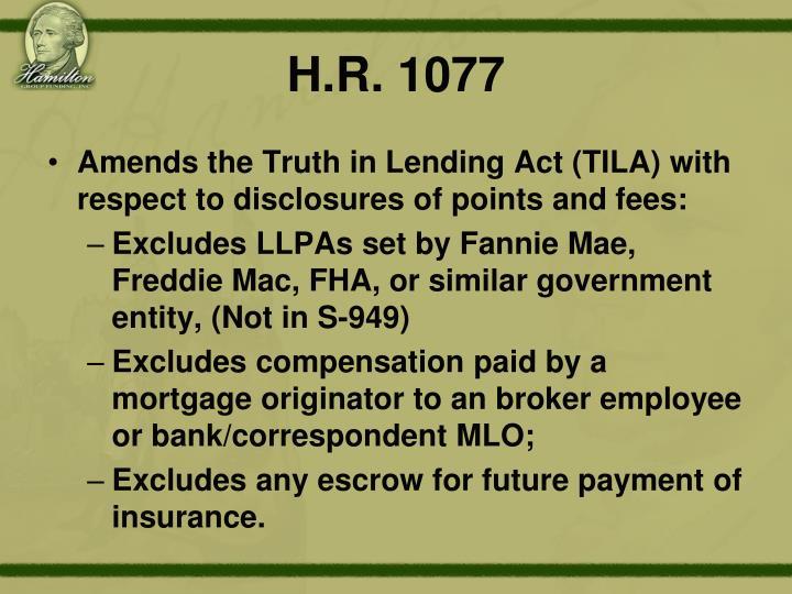 H.R. 1077
