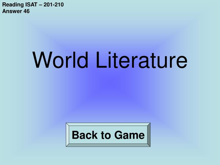 Reading ISAT – 201-210
