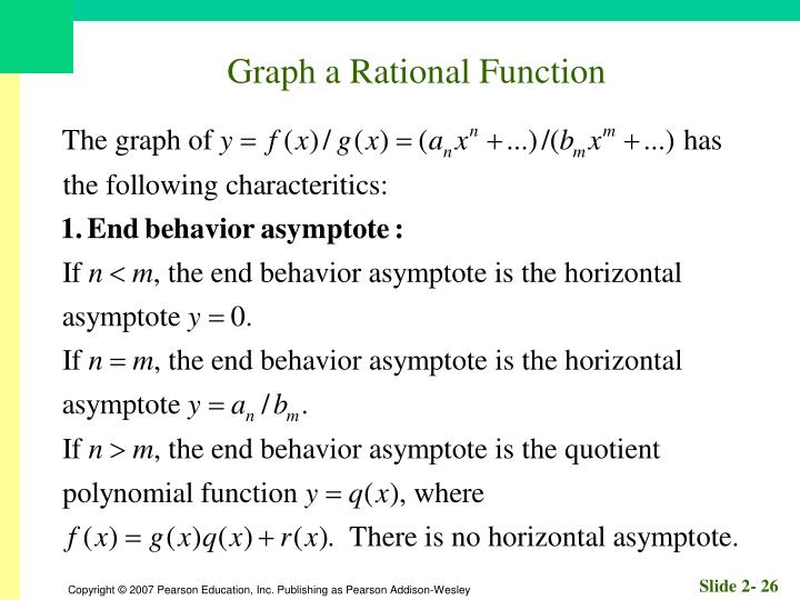 Graph a Rational Function