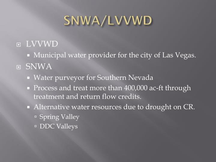 SNWA/LVVWD