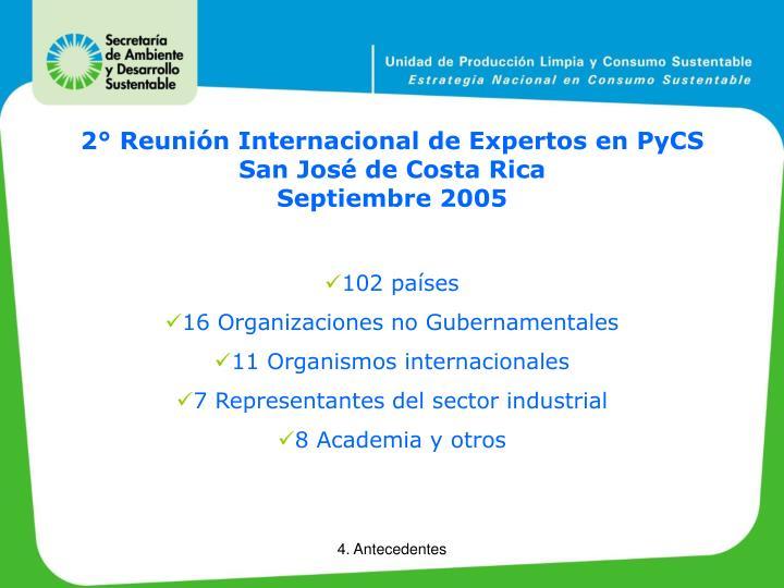2° Reunión Internacional de Expertos en PyCS
