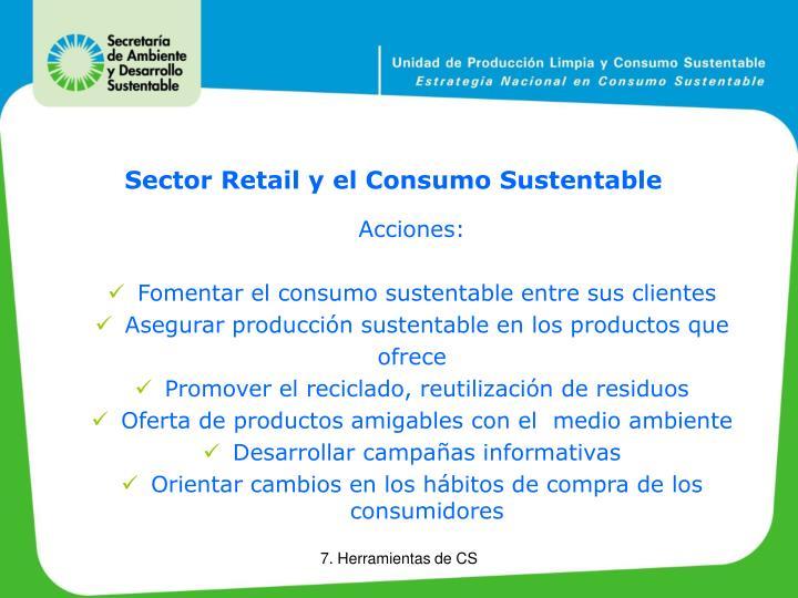 Sector Retail y el Consumo Sustentable