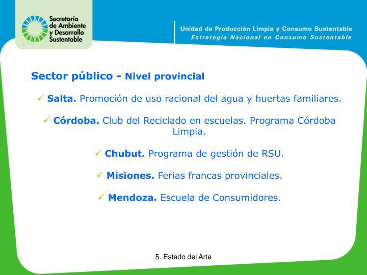 Sector público -