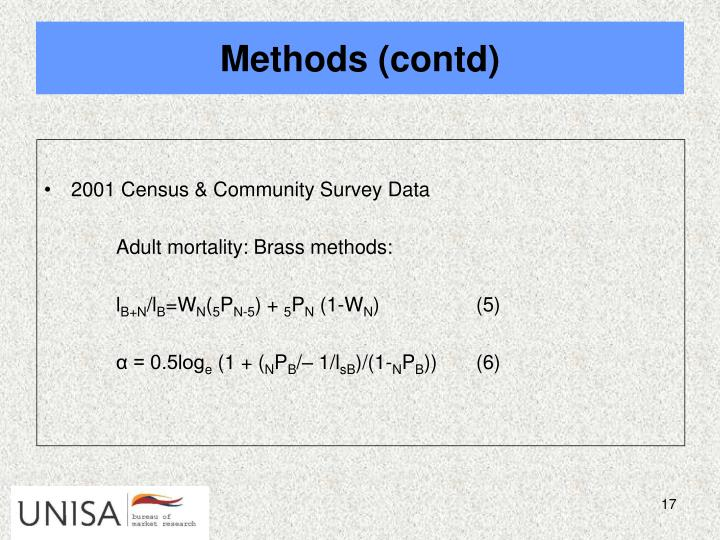 2001 Census & Community Survey Data