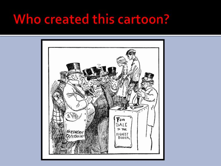 Who created this cartoon?