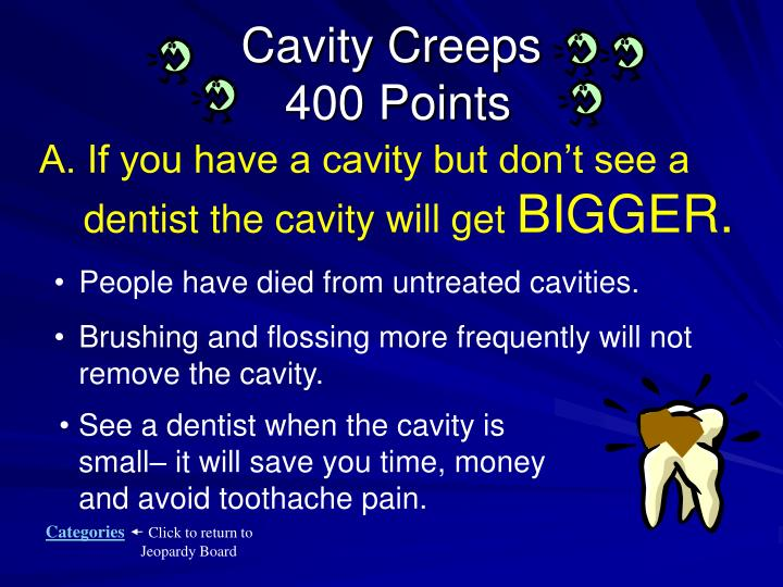 Cavity Creeps