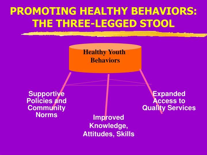 PROMOTING HEALTHY BEHAVIORS: