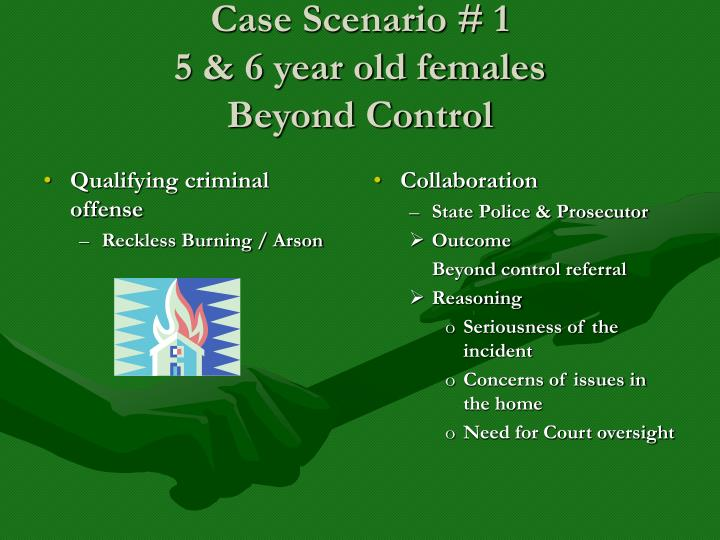 Qualifying criminal offense