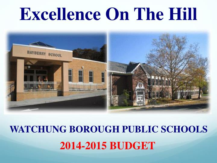 Excellence On The Hill