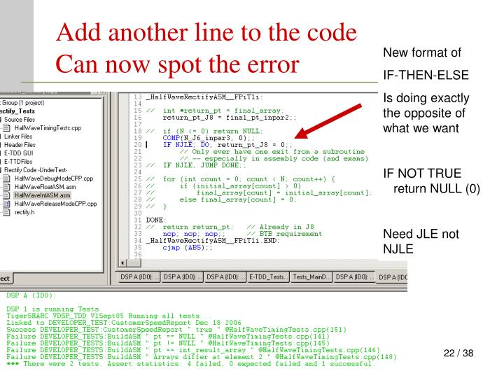Add another line to the code