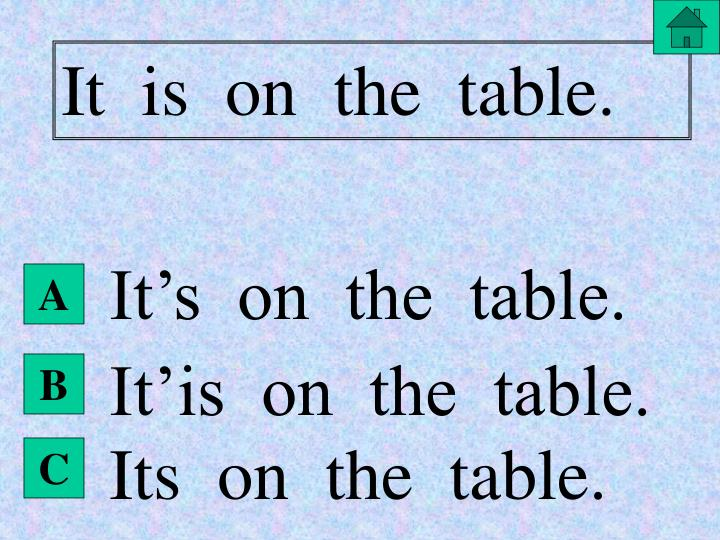 It  is  on  the  table.