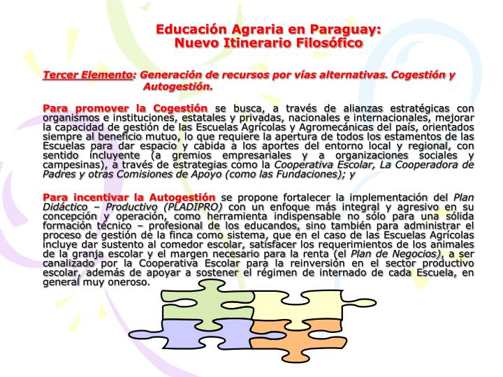 Educación Agraria en Paraguay: