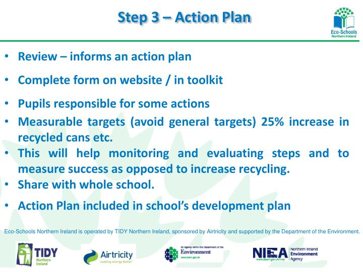 Step 3 – Action Plan