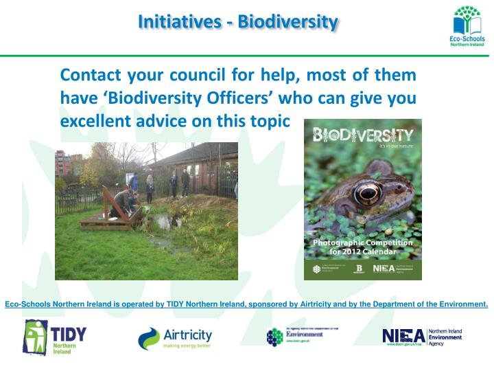 Initiatives - Biodiversity