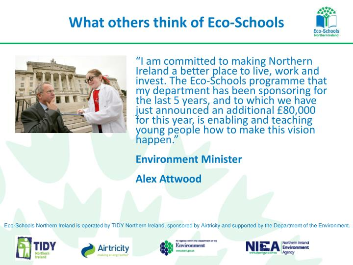 What others think of Eco-Schools