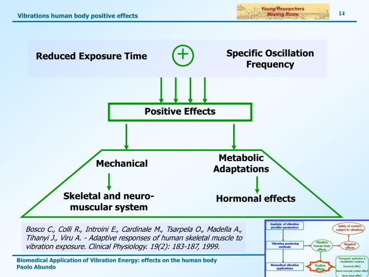 Vibrations human body positive effects