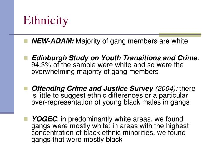 Ethnicity